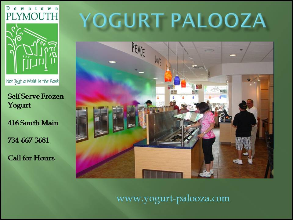 Yogurt Palooza